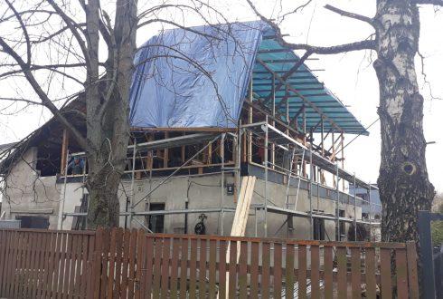 Dzīvojamās mājas rekontrukcija