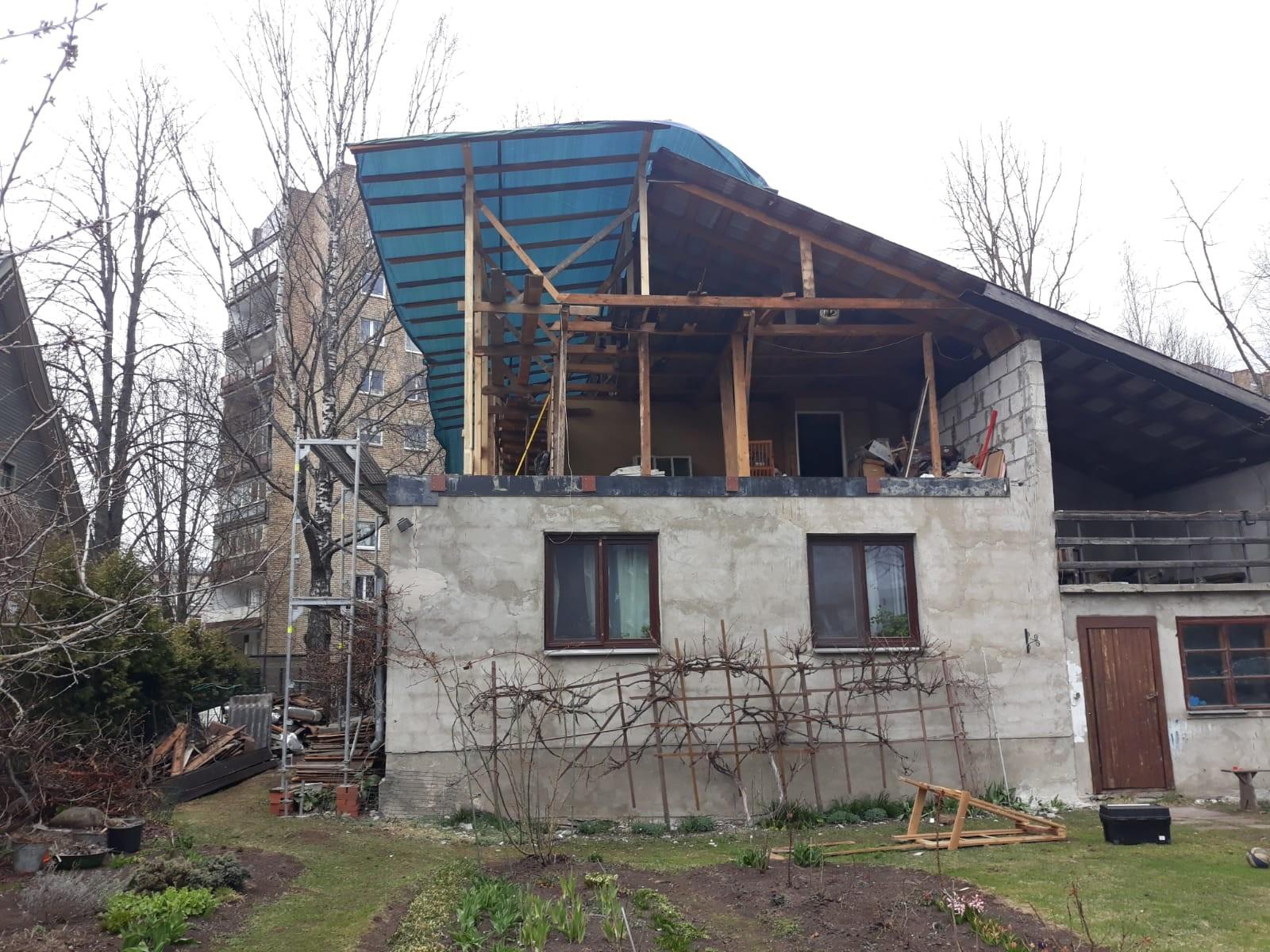 Dzīvojamās mājas rekontrukcija gallery