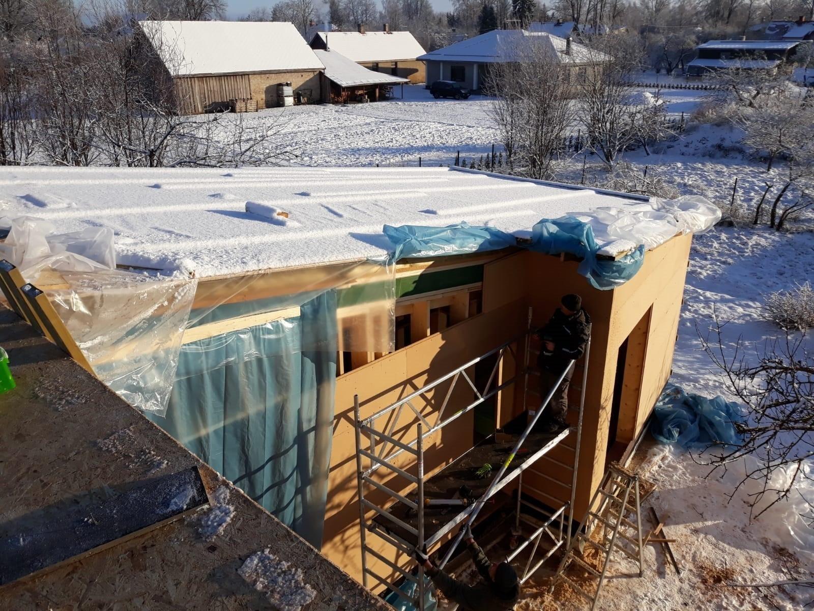 Pasīvās mājas būvniecība gallery