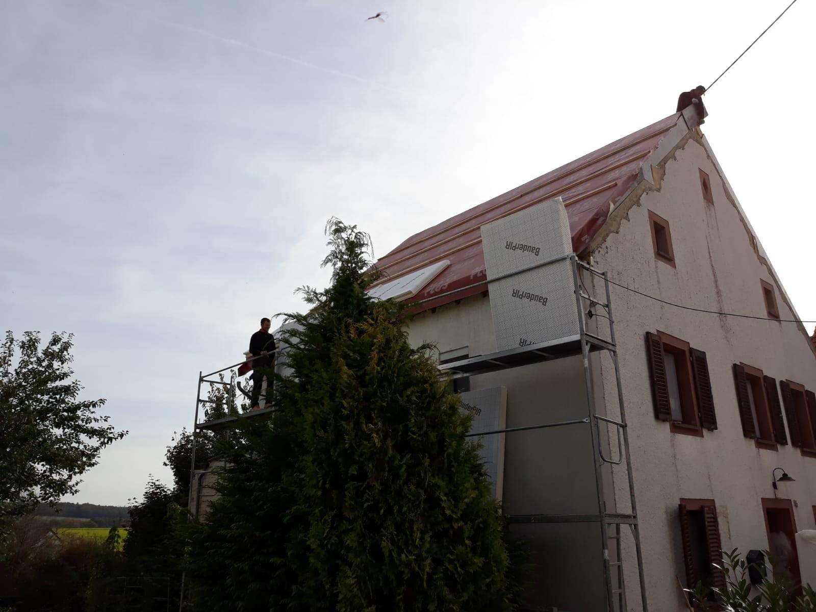 Jumta konstrukcijas un seguma nomaiņa gallery