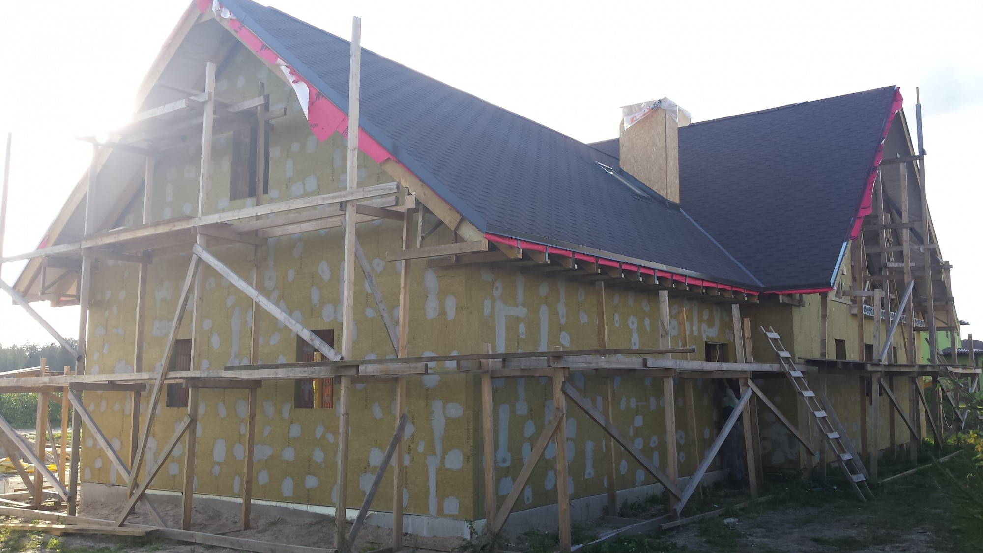 Pilna cikla privātmājas būvniecībā Mārupē gallery